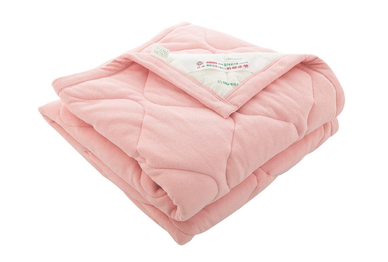 Greene Medical Warm Thermal Blanket Four Seasons Extraソフト生地スーパー通気性カラーピンク/ホワイト105 x 150 cm B00P0Q6MAG