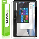 HP Spectre x2 Screen Protector, IQ Shield LiQuidSkin Full Coverage Screen Protector for HP Spectre x2 (12-a001dx) HD Clear Anti-Bubble Film - with
