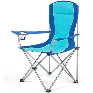 GHM Silla de Camping Silla Plegable Portátil Pesca Playa ...