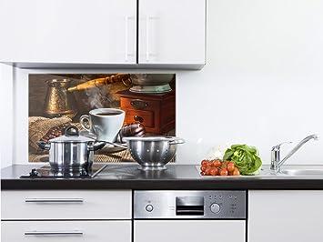 Spritzschutz kuche kaffee - Wandbilder kuchenmotive ...