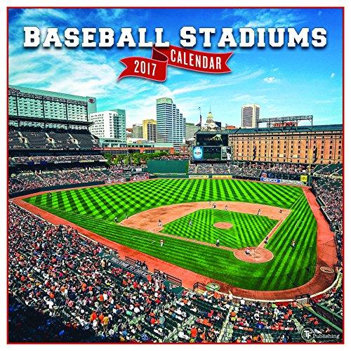 Mlb Baseball Schedule (2017 Baseball Stadiums Wall Calendar)