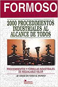 Formoso 2000 procedimientos industriales al alcance de todos