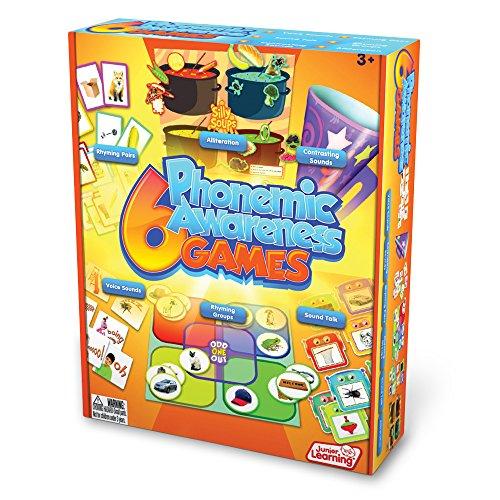 Junior Learning 6 Phonemic Awareness Game -