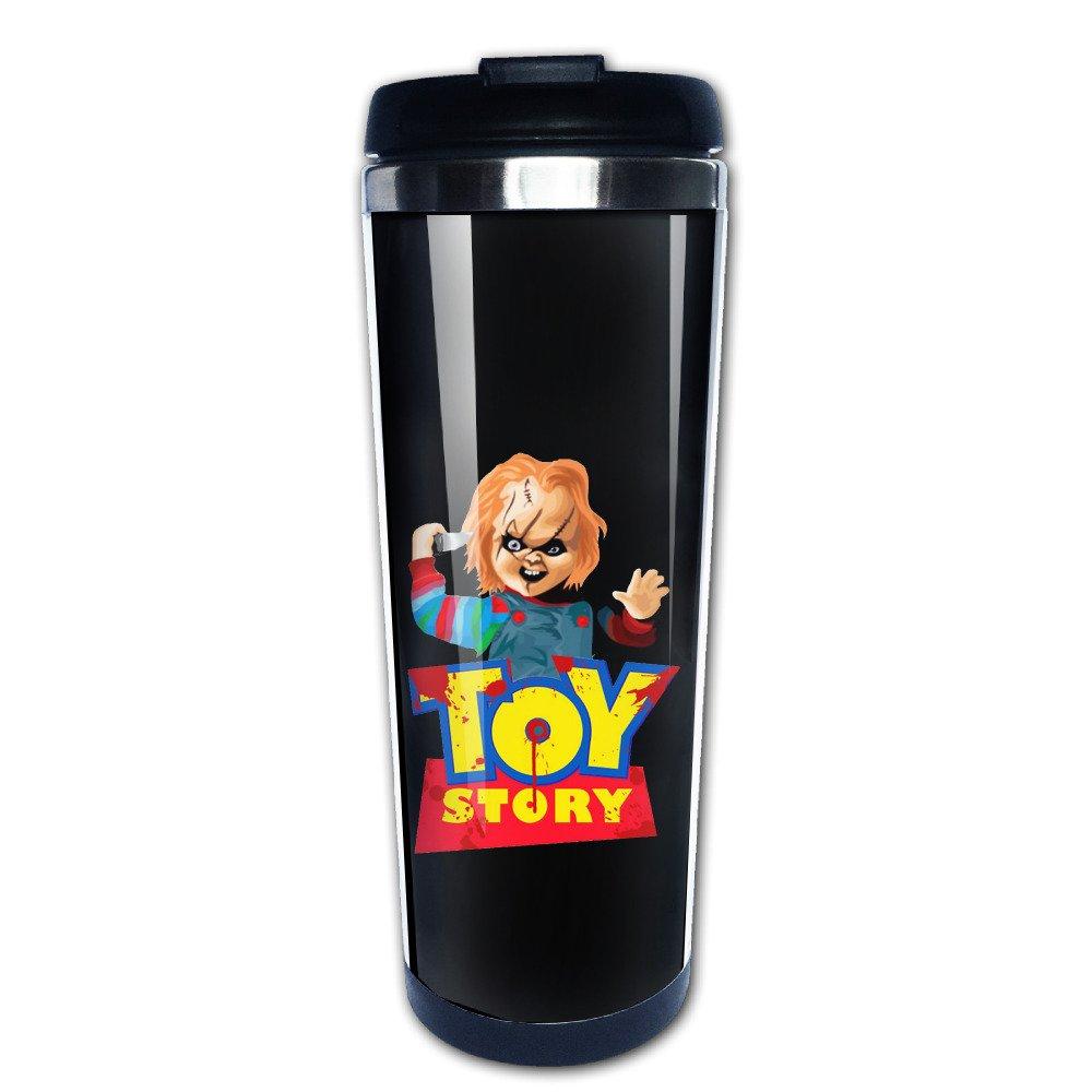 MANation Chucky a Toy Story Parodia Taza de vac/ío de Acero Inoxidable Taza de caf/é