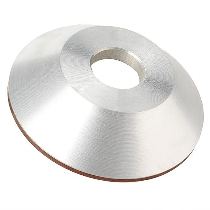 Harter Stahl Schüssel-Form Diamantschleifscheibe poliert Alloy 100mm Grit 180