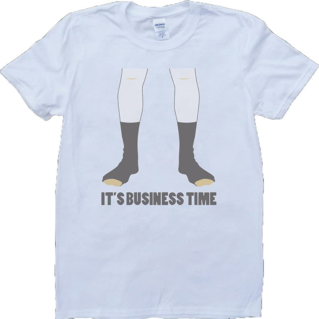 Flight Of The Conchords Business Time White Custom Made T