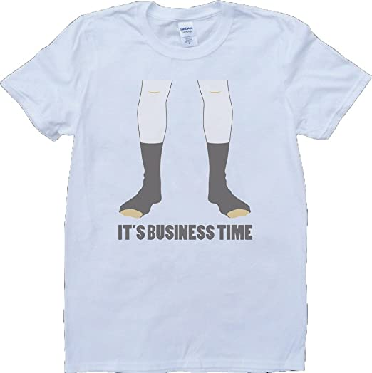 14a43a27 Flight Of The Conchords Business Time Custom Made T-Shirt - White - X-