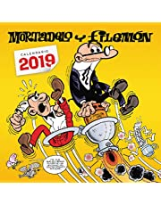 Calendario Mortadelo y Filemón 2019 (Bruguera Clásica)