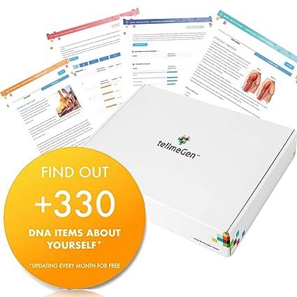 Test ADN (Salud + Ancestry) Prueba Genetica - ☆ TellmeGen ☆ +330 Informes
