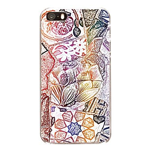 "Disagu Design Case Coque pour Apple iPhone 5 Housse etui coque pochette ""Mosaikzeichnung"""