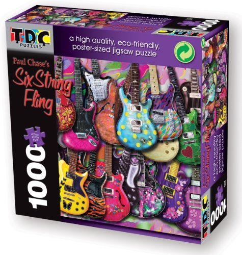 TDC Games Eco Friendly Puzzle - Six String Fling