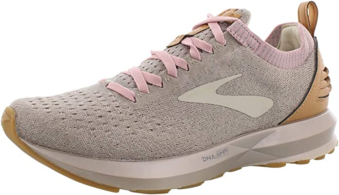 Brooks Levitate Sneakers Damen Tan/Braun/Rosa