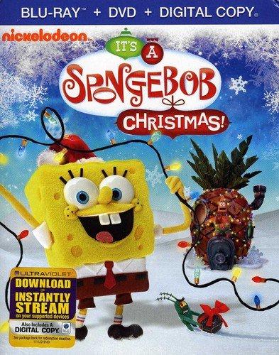 SpongeBob SquarePants: It's A SpongeBob Christmas! (Two-Disc Blu-ray/DVD Combo) (Presents Returning Christmas)