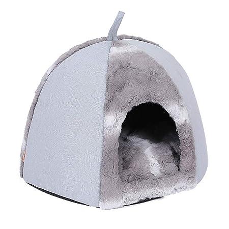 DALEI Tienda de Mascotas Cueva Cama para Gatos/Perros ...