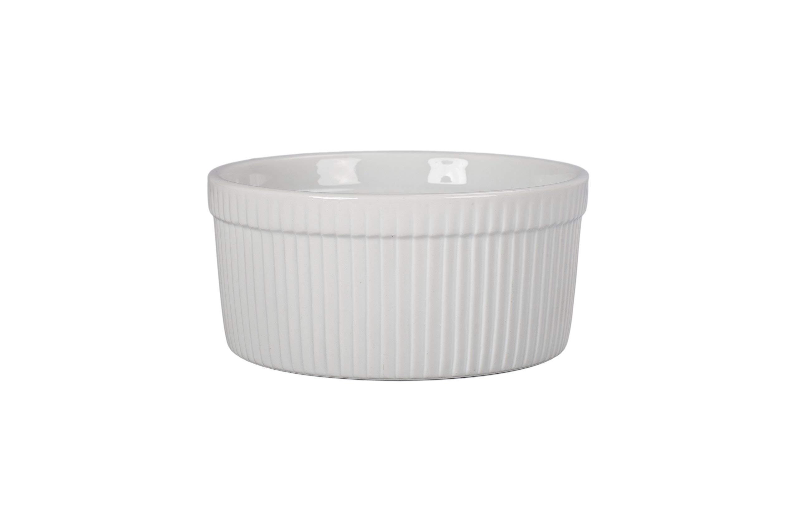 BIA Cordon Bleu 900016S1SIOC Classic Bakeware Souffle Dish White (Renewed) by BIA Cordon Bleu