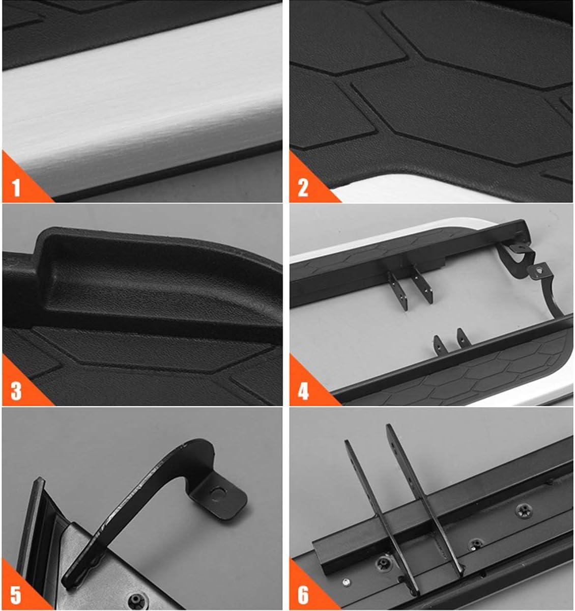 Autoxrun Side Steps Running Boards Fits 2017 2018 Honda CRV Black Side Bars Step Rails