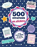 500 stickers Citations