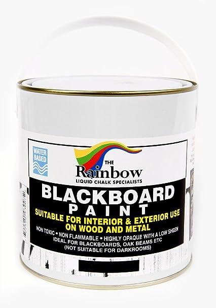 Pintura de pizarra, lata de 1 litro ideal para crear ...