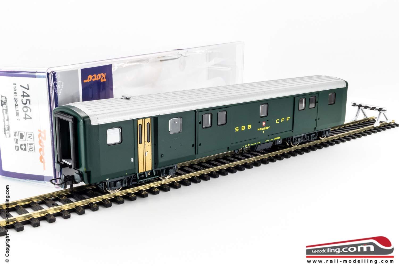 ROCO 74564 - H0 1 87 - autorozza borsaagliaio SBB CFF FFS modellololo EW II Ep. IV