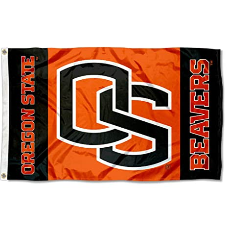 amazon com oregon state osu beavers flag large 3x5 outdoor flags