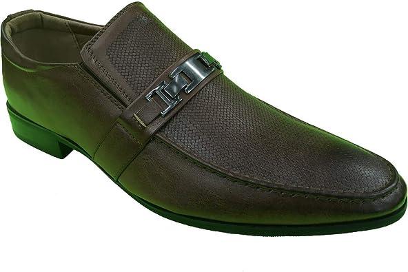 Krazy Shoes Men's Fancy Coffee Slip