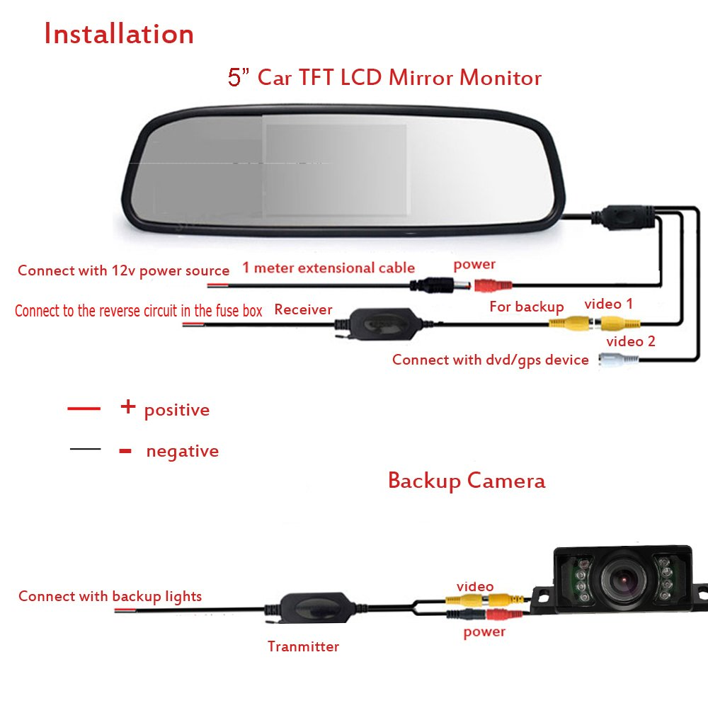 tft monitor wire diagram on tft mirror backup camera wiring diagram rh 107 191 48 154 Club Cart Battery Wiring Diagram Auto Mobile Wiring Diagrams
