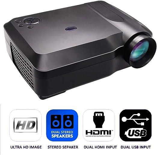 Mini Mobile Projector, con Cine en casa con 120 Pulgadas Tamaño de ...