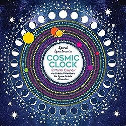Spiral Spectrum's Cosmic Clock 12 Month Calendar: An Undated Workbook for Space Cadets and Lunatics (Astrology)