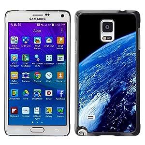 LECELL -- Funda protectora / Cubierta / Piel For Samsung Galaxy Note 4 SM-N910F SM-N910K SM-N910C SM-N910W8 SM-N910U SM-N910 -- Space Planet Galaxy Stars 69 --