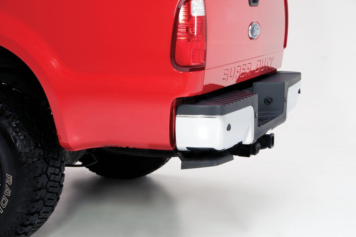 AMP Research 75303-01A BedStep Retractable Bumper Step for 1999-2016 Ford F-250/F-350/F-450 by AMP Research