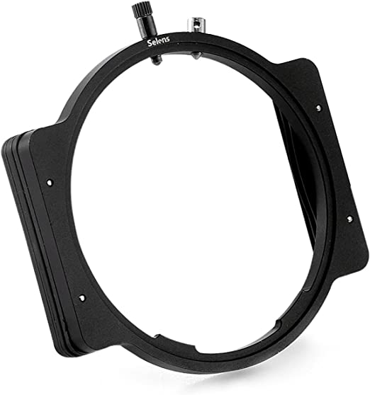 Selens Professional Aircraft Aluminum Versatile Square Metal Modular Filter Holder Fit for 67-86mm 72-86mm 77-86mm 82-86mm Step-Up Ring Adapter