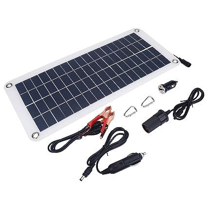 Amazon.com : Portable Solar Panel Charger Powerbank 18V 10.5 ...