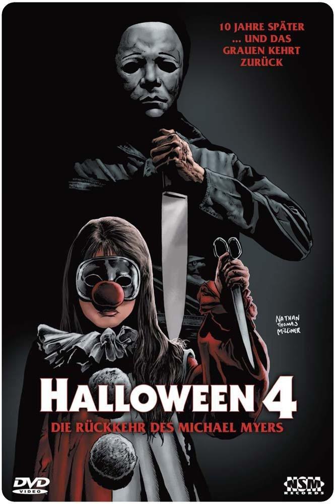 Amazon com: Halloween 4 : Return Of Michael Myers (1988) : UNCUT