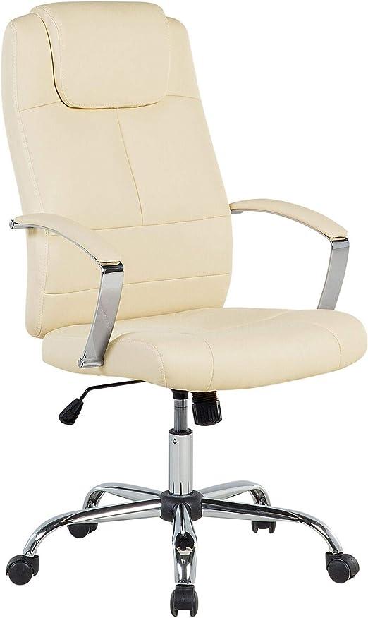 sillas de escritorio beige