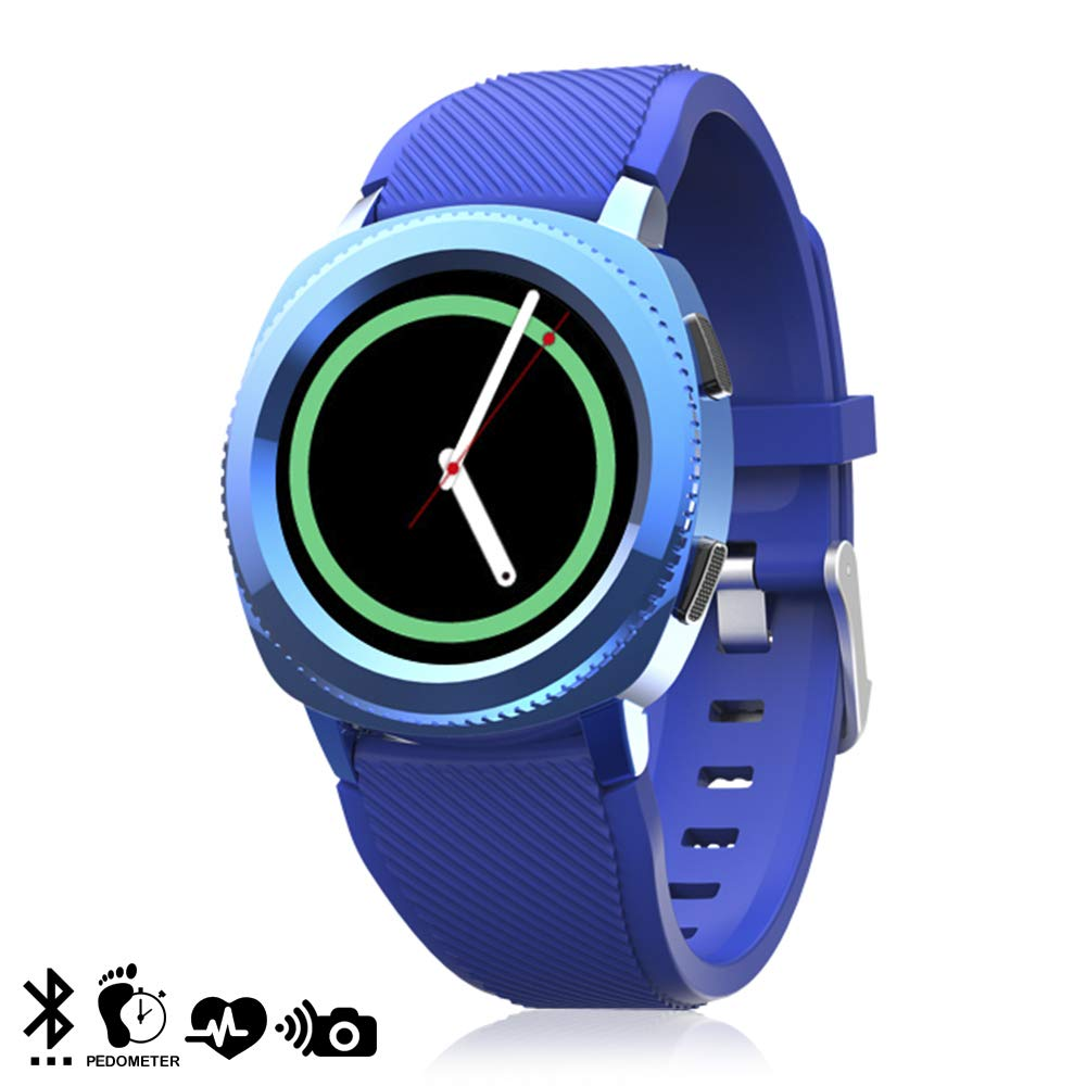 Dam L2 Plus - Smartwatch Bluetooth 4.0, color azul