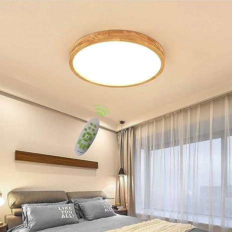 Amazon.com: Lámpara LED de techo, diseño moderno, regulable ...