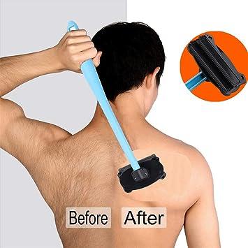 Afeitadora de Espalda Hombres Afeitadora Corporal Manual,Mango ...