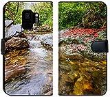 Samsung Galaxy S9 Flip Fabric Wallet Case Image ID: 28790457 Huihang Ancient Trail Hiking Tour Image Using Slow Shutter Speed wat