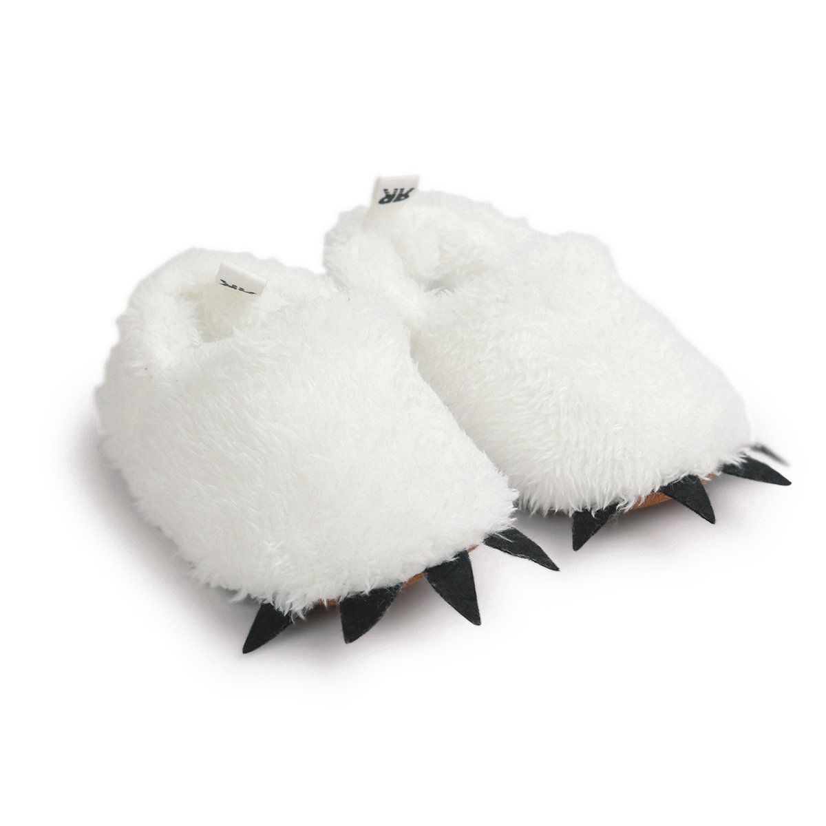 Vanbuy Baby Boys Girls Shoes Bear Paw Animal Slippers Boots Newborn Infant Crib Shoes WB28-White-L by Vanbuy (Image #4)