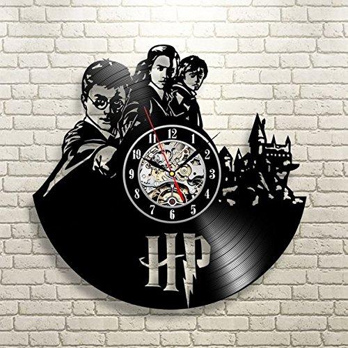 Compre reloj de pared harry potter hermione vinilo record Vinilos pared harry potter