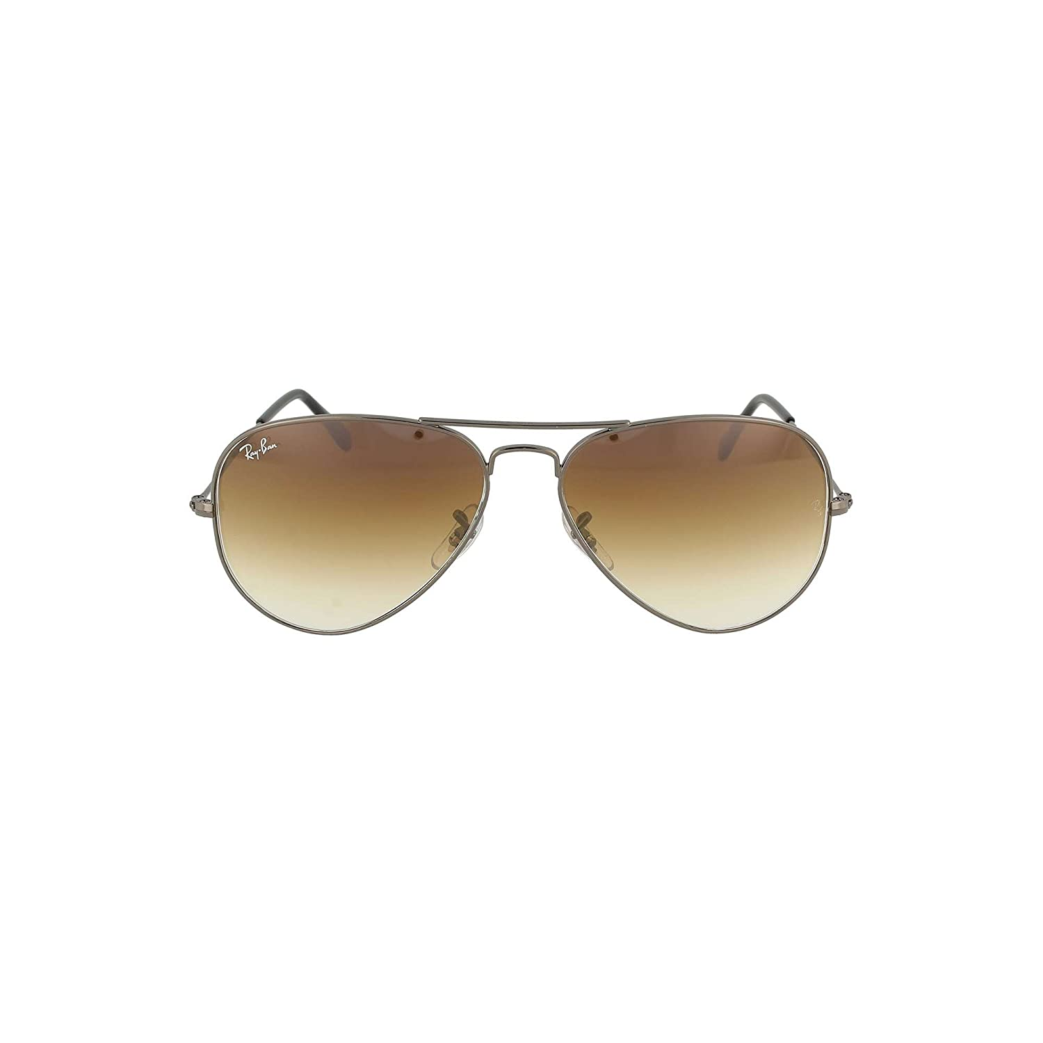 d01afa8734 Ray-Ban RB3025 004 51 Gunmetal RB3025 Aviator Sunglasses Lens Category 3  Size 5  Amazon.co.uk  Clothing