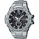[カシオ]CASIO G-SHOCK Gショック ジーショック 収納BOX付き メンズ タフムーブメント シルバー ステンレス 20気圧防水 ハイブリット 充実機能 モバイルリンク機能搭載 GST-B100D-1AJF 腕時計[正規輸入品] [並行輸入品]