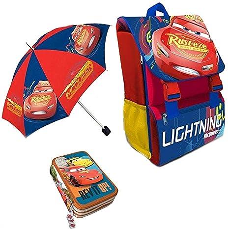 a3d310a5e747a1 Kit Scuola 3 in 1 School Promo Pack Zaino Estensibile + Astuccio 3 Zip  Accessoriato +