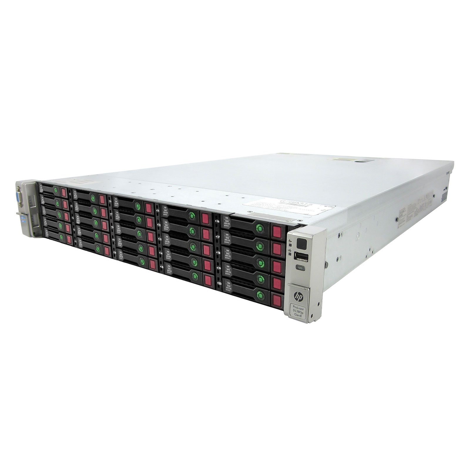 High-End HP ProLiant DL380P G8 Server 2x 2.90Ghz E5-2690 8C 384GB 25x 146GB 15K (Certified Refurbished)