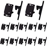 12 Grabber Catches 10 LB Pull Force Cabinet Doors Push to Close Latch RV Drawer Latches and Catches Hardware Baby Proof…