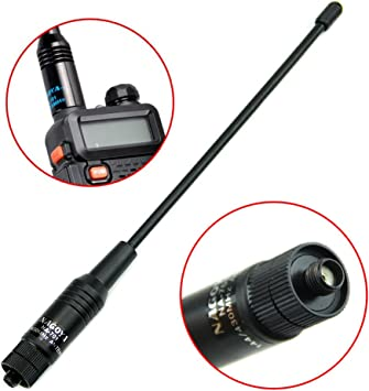Antena de radio para KG-UV Baofeng UV-5R, de la marca HeroNeo, SMA hembra