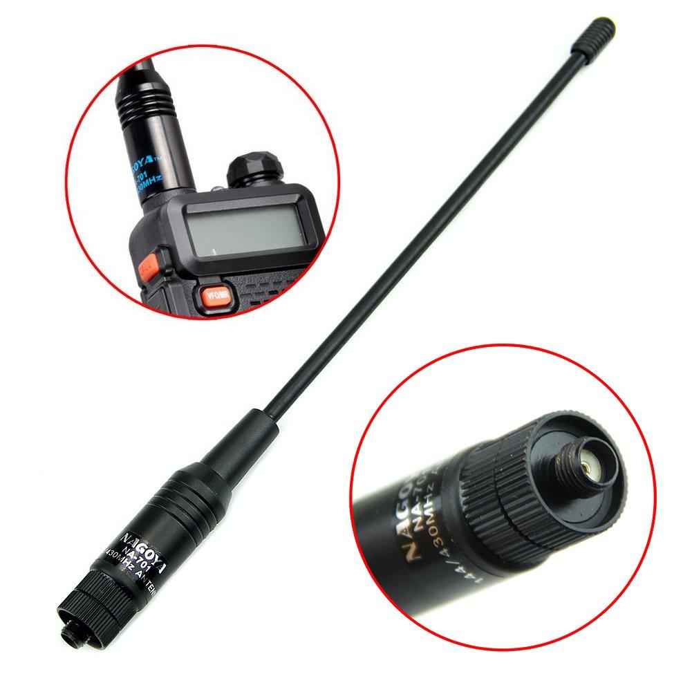 Antena de radio para KG-UV Baofeng UV-5R, de la marca HeroNeo, SMA hembra HeroNeo®