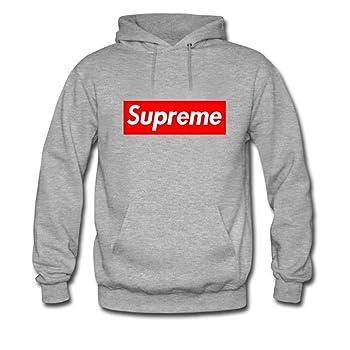 Tees N All Supreme Pullover Hoodie Grey
