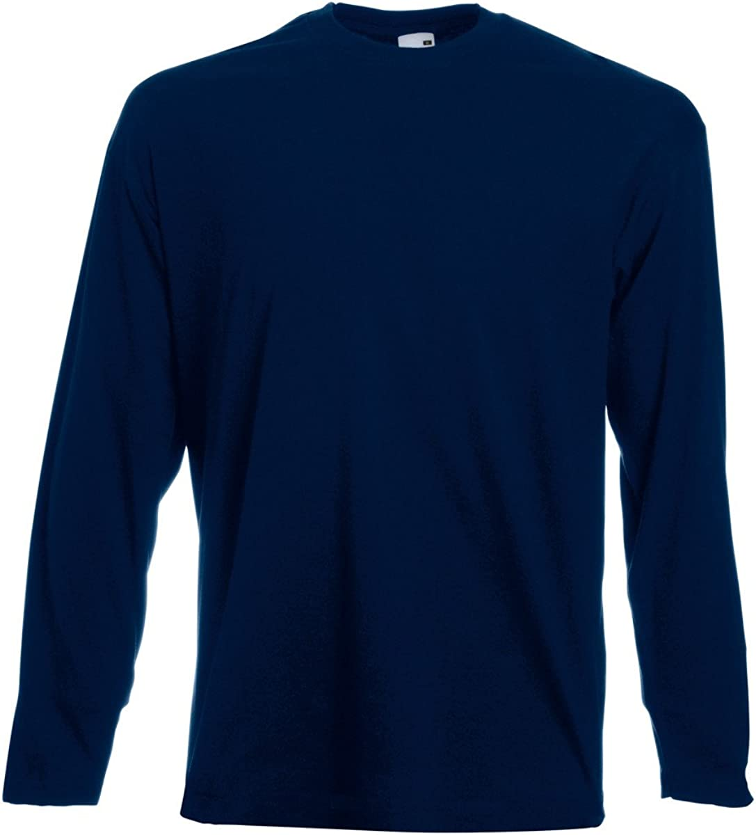 Maglietta a maniche lunghe da uomo Fruit of The Loom Valueweight