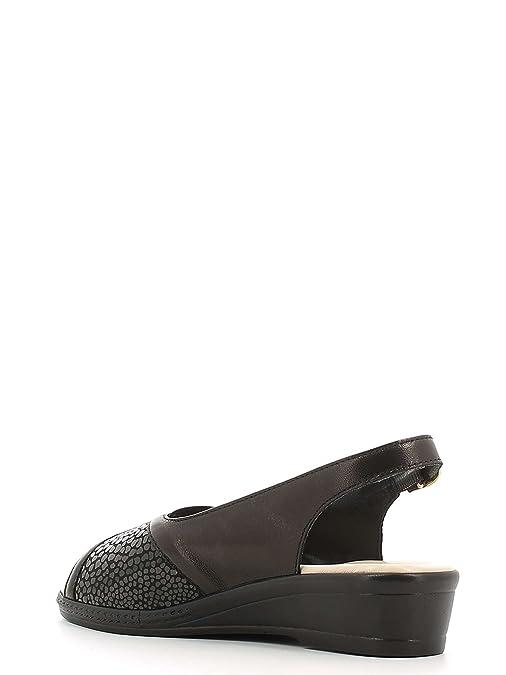 Susimoda 2501S Sandales compensées Femmes Noir 37 eN4nZJ
